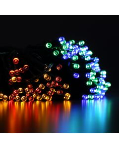 GIRLANDA SOLARNA ogrodowa ozdobna SHINE MULTI 100 LED Polux