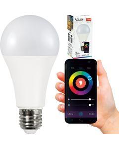 Żarówka LED A65 E27 11W 1055lm POLUX 2700K-6500K RGB Smart WiFi TUYA