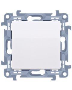 ŁĄCZNIK włącznik jednobiegunowy SIMON 10 BIAŁY 10AX CW1.01/11