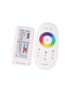Sterownik LED RGB ODBIORNIK 216W + Pilot dotykowy RF 2,4GHz