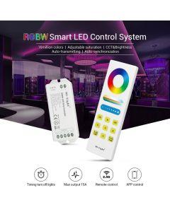 KONTROLER Sterownik do TAŚM LED RGB+W + Pilot RF Mi-Light - FUT044A