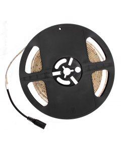 Taśma LED Pasek 12V 24W 300LED 2835 Ciepła IP65 8mm 5m