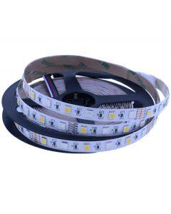 Taśma LED RGB + W 3000K 72 W 300x SMD 5050 IP20 Ciepła 5m Rolka