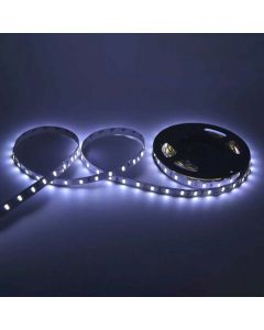 Taśma LED Pasek 12V 24W 300LED 2835 Zimna 8mm 5m