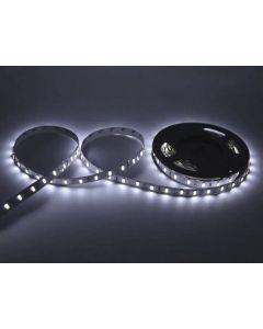 Taśma LED Pasek 12V 72W 300LED 5050 Zimna 10mm 5m - wyprzedaż