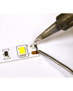 Usługa lutowania taśm LED – przedłużenie taśm / dolutowanie przewodów