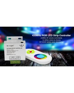 Zestaw KONTROLER Sterownik do TAŚM LED RGB + Pilot RF Mi-Light - FUT042