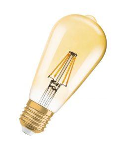 Żarówka LED E27 ST64 7,5W = 55W 650lm 2500K Ciepła OSRAM Vintage 1906 Ściemnialna