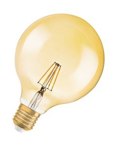 Żarówka LED E27 G125 4W = 36W 420lm 2500K Ciepła OSRAM Vintage 1906 Globe