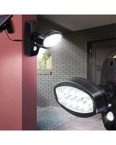 Naświetlacz Solarny LED 2W z czujnikiem ruchu VOLTENO