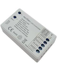Odbiornik uniwersalny Sterownik do taśm LED RGB / RGBW / CCT / DIM 4x 4A VOLTA 12V / 24V DC ProVero