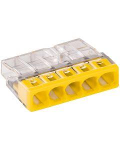5x Złączka instalacyjna 5x2,5mm 2273-205 WAGO