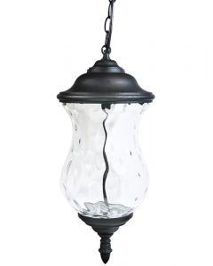 Lampa Ogrodowa Wisząca LED MARSYLIA 9W 3000K Czarna 110cm - Polux