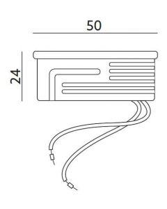 Wkład do opraw LED INSERT STANDARD MILKY mleczny 5W 450lm 6500K 120° KOBI