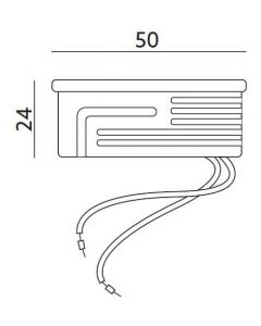 Wkład do opraw LED INSERT STANDARD MILKY mleczny 6,5W 600lm 6500K 120° KOBI