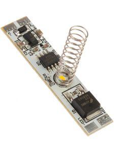 Włącznik ściemniacz do profili LED DOTYKOWY 60W ON/OFF SPRĘŻYNKA