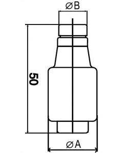 Bezpiecznik topikowy 16A Wkładka topikowa WKŁADKA WTS 25A