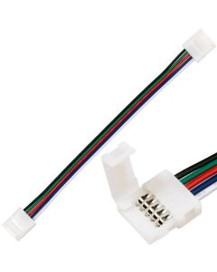 Złączka do Taśm LED RGB+W 10mm 5-PIN Dwustronna z Przewodem