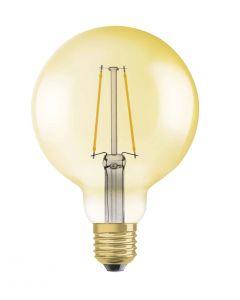 Żarówka LED E27 GLOBE 4,5W = 36W 420lm G95 2500K OSRAM VINTAGE 1906