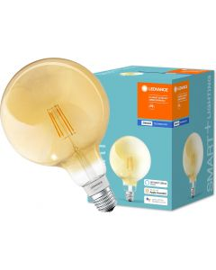 Żarówka LED E27 SMART+ 5,5W 600lm Ciepła 2700K GLOBE ściemnialna LEDVANCE Bluetooth