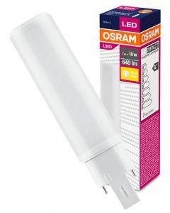 Świetlówka LED G24Q-2 7W 640lm 3000K Ciepła 120° OSRAM Dulux D/E HF