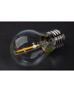 Żarówka LED E27 FILAMENT G45 1,3W 55lm 3000K do Girlandy Kobi