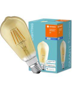 Żarówka LED E27 SMART+ 5,5W 600lm Ciepła 2700K Edison ściemnialna LEDVANCE Bluetooth