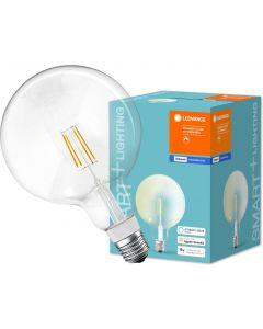 Żarówka LED E27 SMART+ 5,5W 650lm Ciepła 2700K GLOBE ściemnialna LEDVANCE Bluetooth