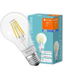Żarówka LED E27 SMART+ 5,5W 650lm Ciepła 2700K FILAMENT ściemnialna LEDVANCE Bluetooth