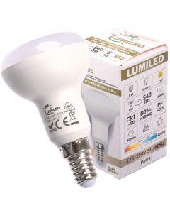 Żarówka LED E14 R50 6W = 60W 540lm 4000K Neutralna 120° LUMILED