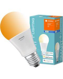 Żarówka LED E27 SMART+ 9W 800lm Ciepła 2700K ściemnialna LEDVANCE Bluetooth