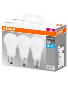 Zestaw Żarówka LED E27 14W = 100W 1521lm OSRAM 4000K 3PAK