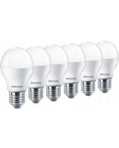 Zestaw 6x Żarówka LED E27 A55 7W = 50W 680lm 3000K PHILIPS