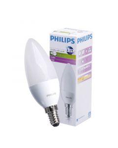 Żarówka LED E14 B38 7W = 60W 806lm 2700K Ciepła 180° PHILIPS