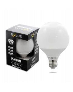 Żarówka LED G95 E27 12W = 75W 1055lm POLUX 3000K