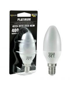 Żarówka LED E14 P45 4,5W = 35W 400lm 3000K Ciepła 150° POLUX