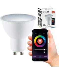 Żarówka LED GU10 5,5W 400lm POLUX 3000K-6500K RGB Smart WiFi TUYA