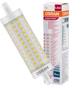 Żarówka LED R7S 15W = 125W 2000lm 2700K Ciepła 300° 118mm OSRAM Parathom