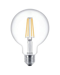 Żarówka LED Filament E27 8W = 60W G93 Kula 806lm 2700K PHILIPS