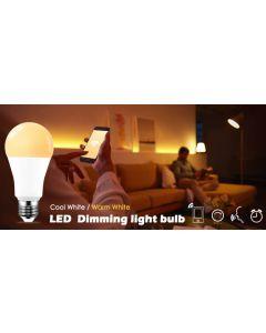Żarówka LED Filament E27 5W = 52W 680lm CCT SPECTRUM Smart TUYA WiFi Ściemnialna