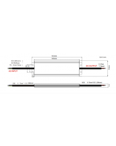 Zasilacz LED ADWS-100 ADLER 12V 100W 8,3A HERMETYCZNY