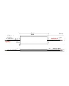 Zasilacz LED ADWS-100-24 ADLER 24V 100W 4,17A HERMETYCZNY