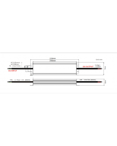 Zasilacz LED ADWS-250-24 ADLER 24V 250W 10,5A HERMETYCZNY