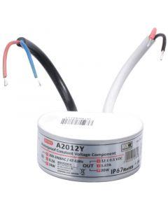 Zasilacz LED do puszki 20W 1.67A 12V DC A2012Y IP67