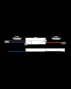 Zasilacz LED napięciowy 12V 12W 1A GPV-12-12 GLP IP67 hermetyczny