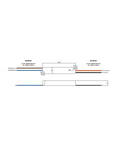 Zasilacz LED NAPIĘCIOWY 24V 12W 0,5A GPV-12-24 GLP IP67 HERMETYCZNY