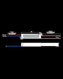 Zasilacz LED napięciowy 12V 24W 2A GPV-20-12 glp IP67 hermetyczny