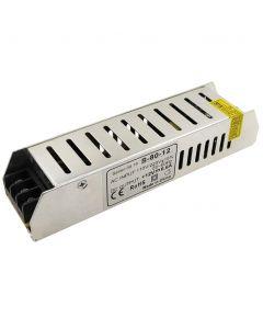 Zasilacz Stałonapięciowy Modułowy 80W 6,6A 12V DC  PFC SLIM LED
