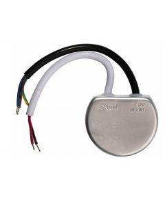 Zestaw 10x Oprawa schodowa LED 1,2W Ciepła Czarna Decorus + Zasilacz 15W + 2x Czujnik ruchu