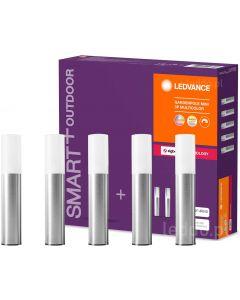SMART+ 5x Lampa ogrodowa GARDENPOLE MINI słupek 4,2W 180lm RGB+W LEDVANCE ZigBee